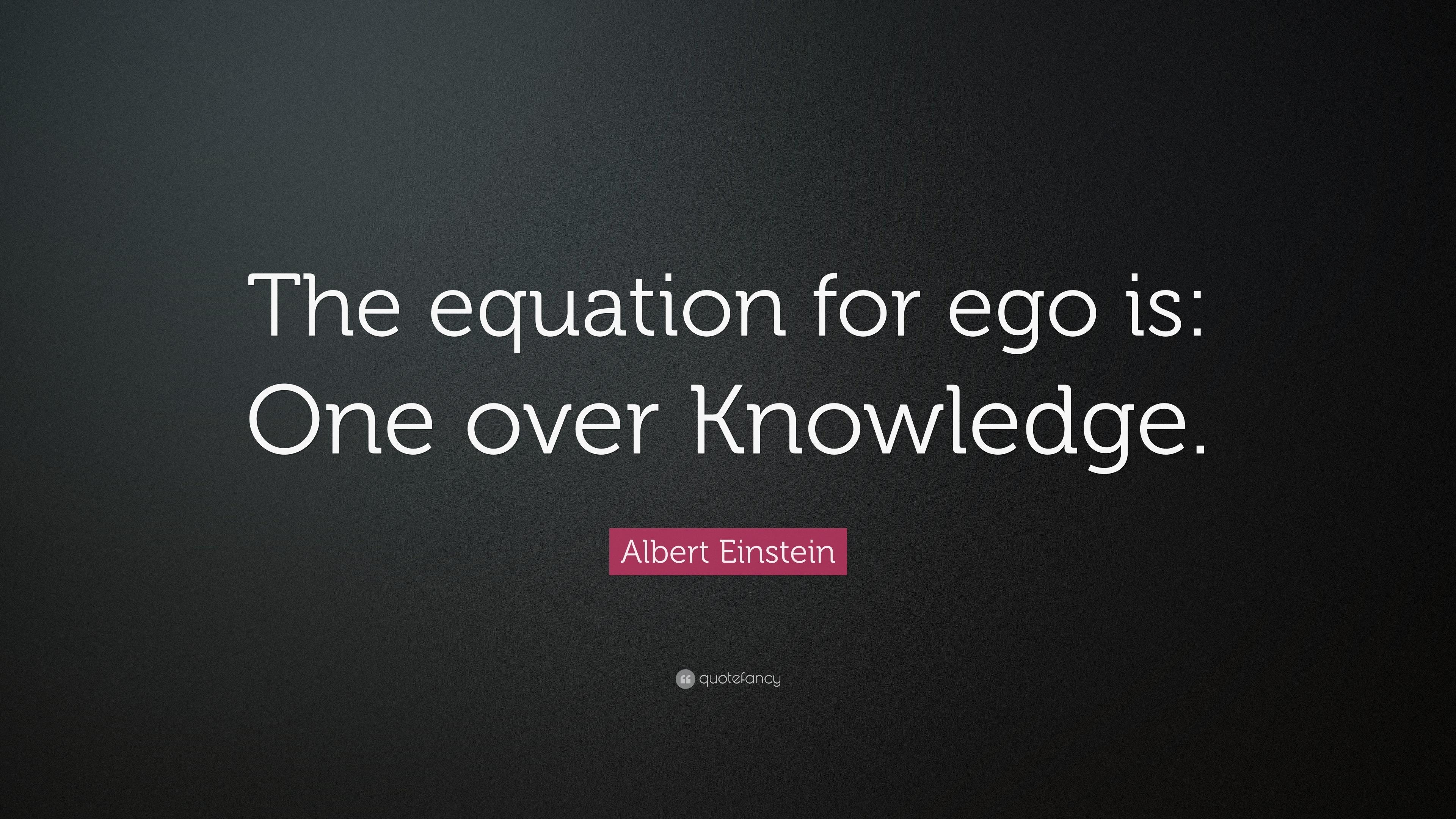 Albert Einstein Equations