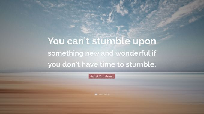 Image result for YOU CAN STUMBLE