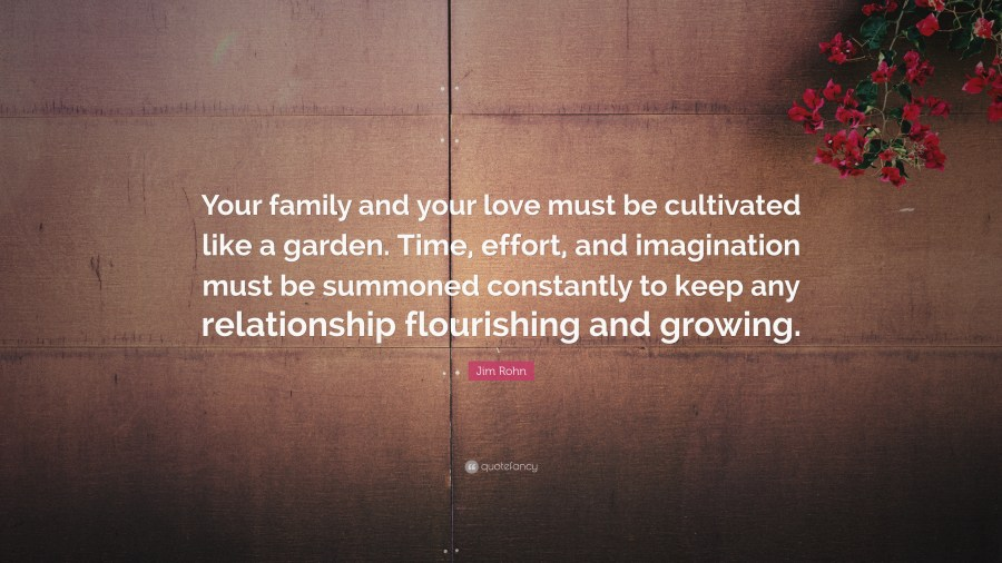 Family Quotes  40 wallpapers    Quotefancy Family Quotes     Your family and your love must be cultivated like a garden