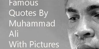 Muhammad ali quotes with pics