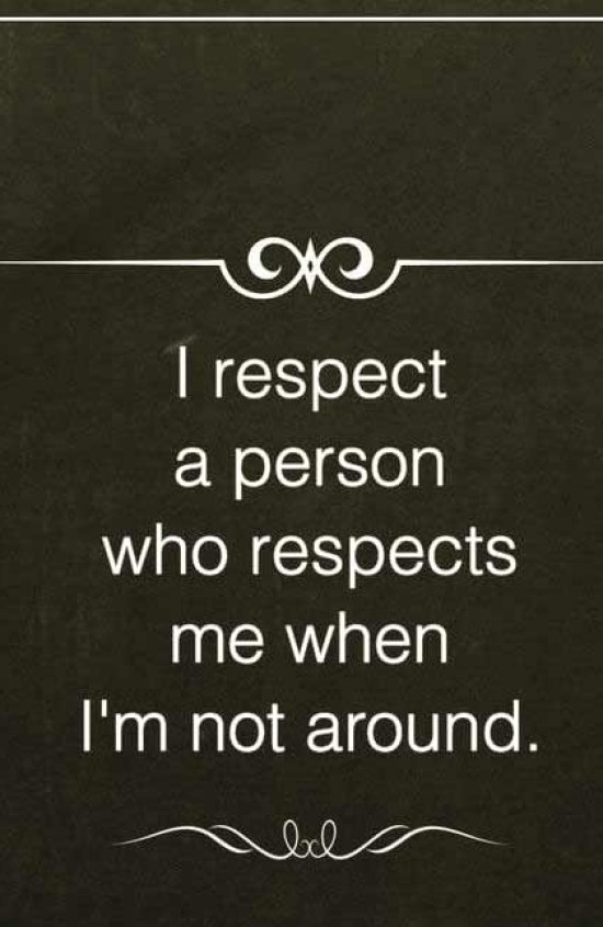 Best respect quotes with images