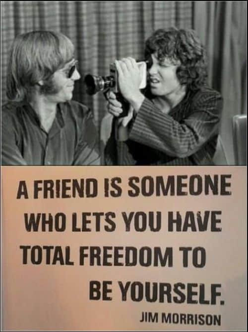 friends quotes jim morrison