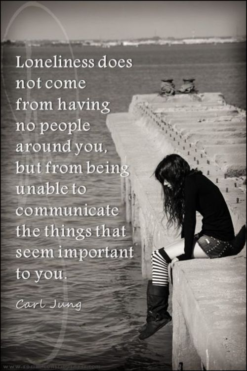 loneliness quotes about friends