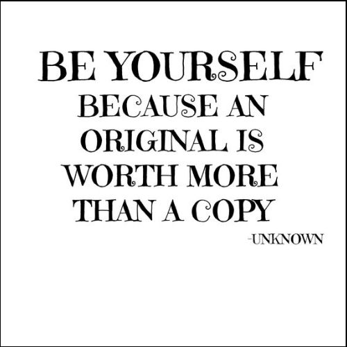 you can be yourself quotes