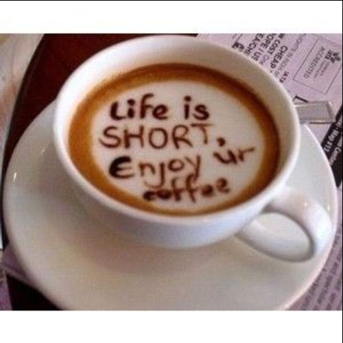 quotes about coffee and life