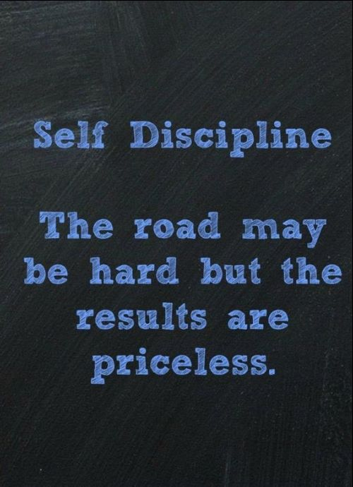 quotes about self discipline