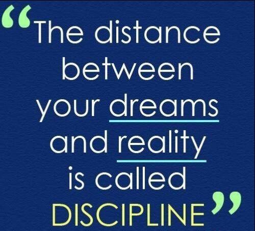 discipline and dedication quotes