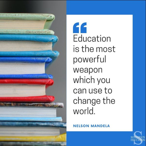 education quotes mandela