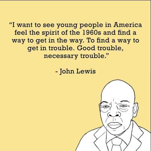 john lewis quotes civil rights movement
