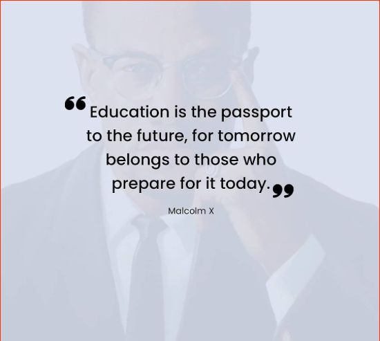 malcolm x racism quotes