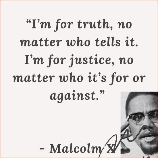 malcolm x picture quotes
