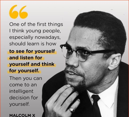 malcolm x quotes police brutality