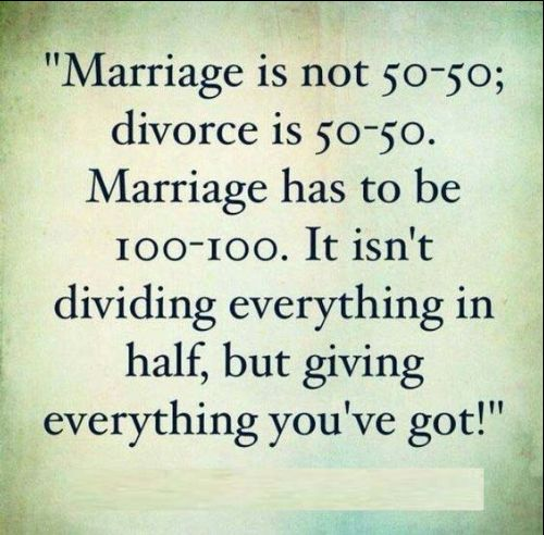 marriage quotes about not giving up