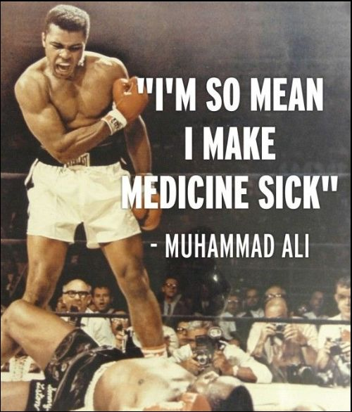muhammad ali quotes impossible is nothing