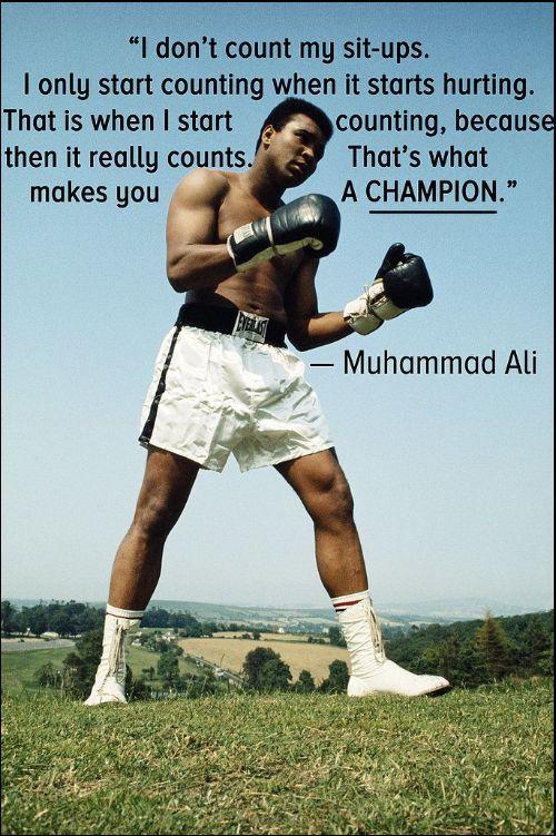 famous quotes muhammad ali
