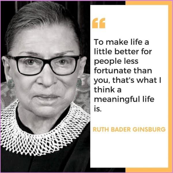 ruth bader ginsburg quotes leadership