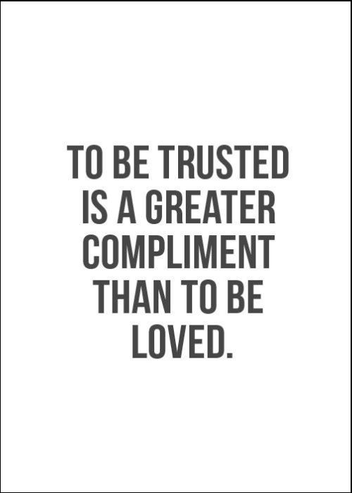 quotes trust and love