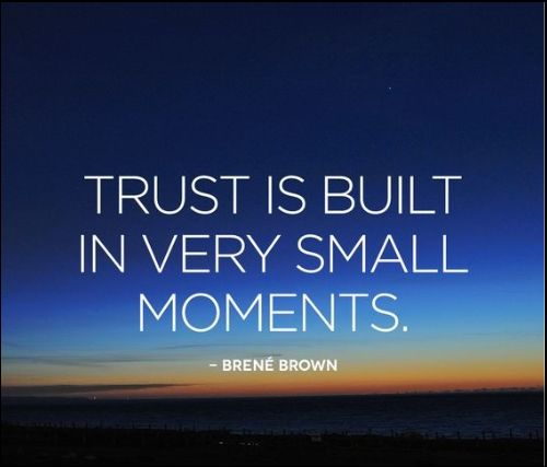 trust quotes with good morning