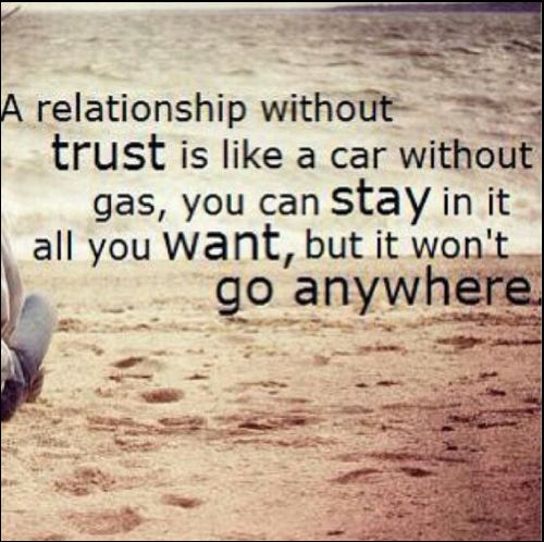 trust quotes with love