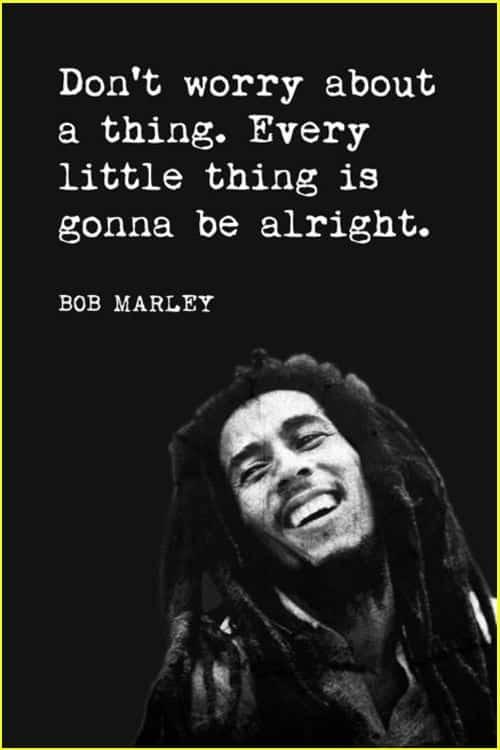 bob marley death quotes