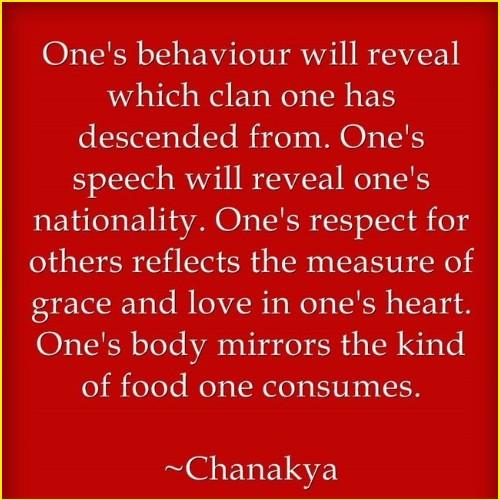 chanakya quotes on character
