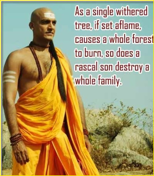 chanakya quotes about money