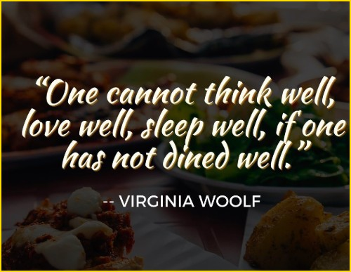 food emotion quotes