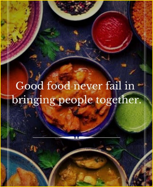 food quotes black and white