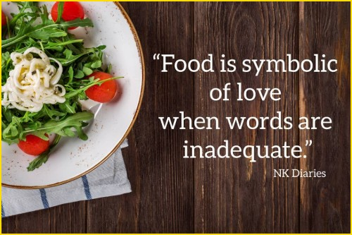 food quotes and slogans