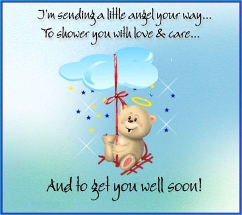 get well soon quotes best friend