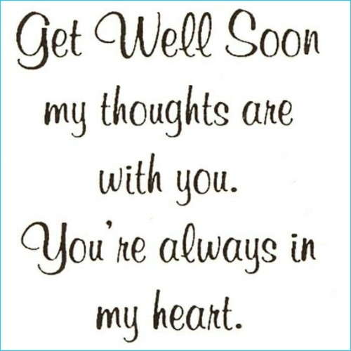 get well soon girlfriend quotes