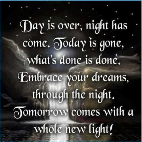 Good Night Quote for beautiful souls