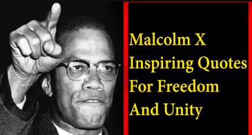 35+ Famous Malcolm X Quotes For Education & Equality With Images