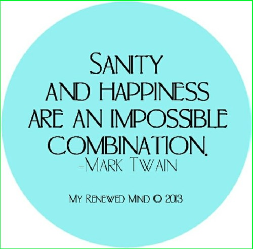 mark twain happiness quotes