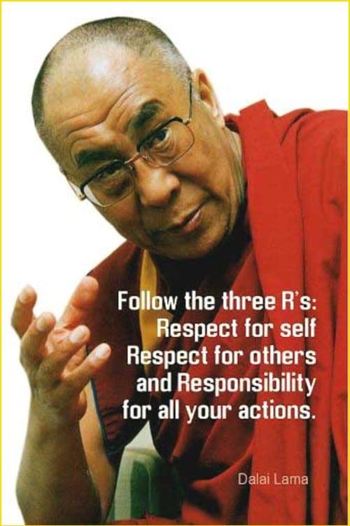 respect quotes dalai lama