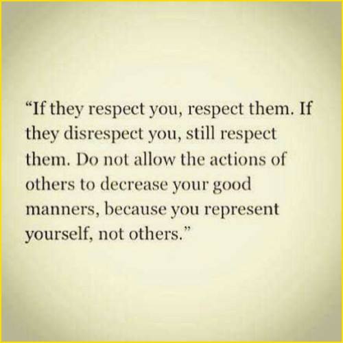 respect god quotes