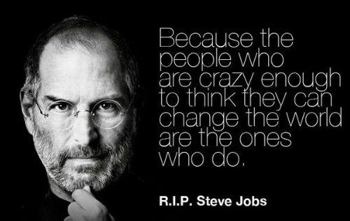 steve jobs quotes crazy