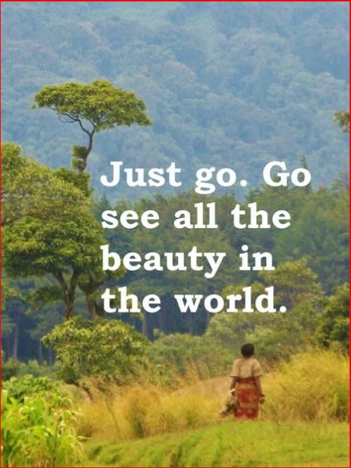 travel quotes about nature