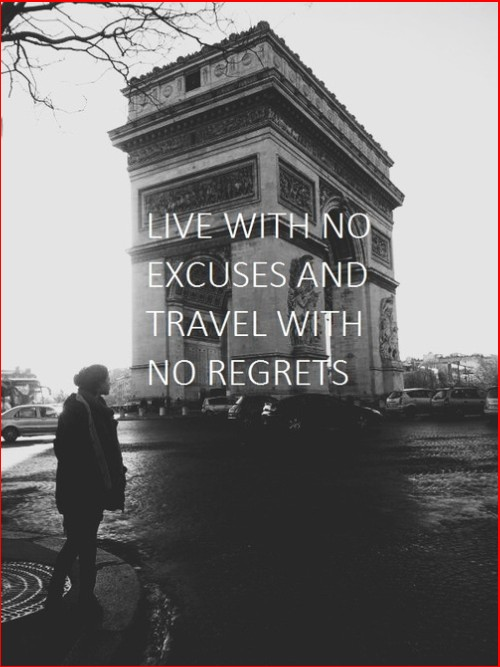travel quotes black and white