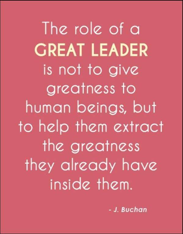 inspiring leadership quotes