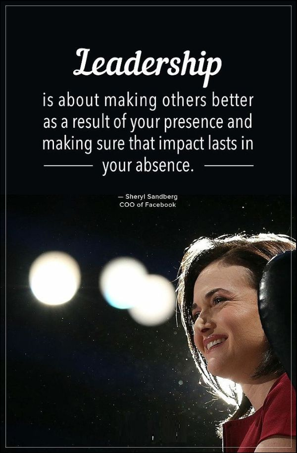 quotes about good leadership