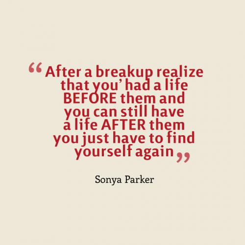 95+ Positive Break Up Quotes To Help You Move On ...