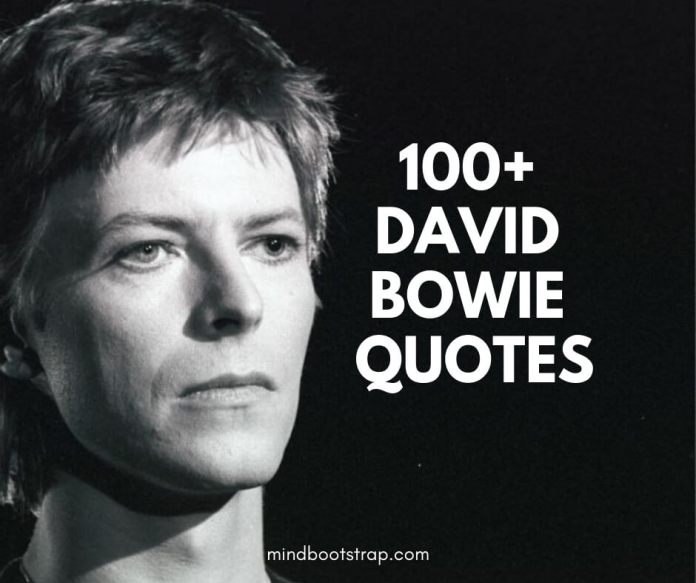 Best David Bowie Quotes and Sayings