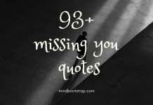 Cute Missing You Quotes For Him or her