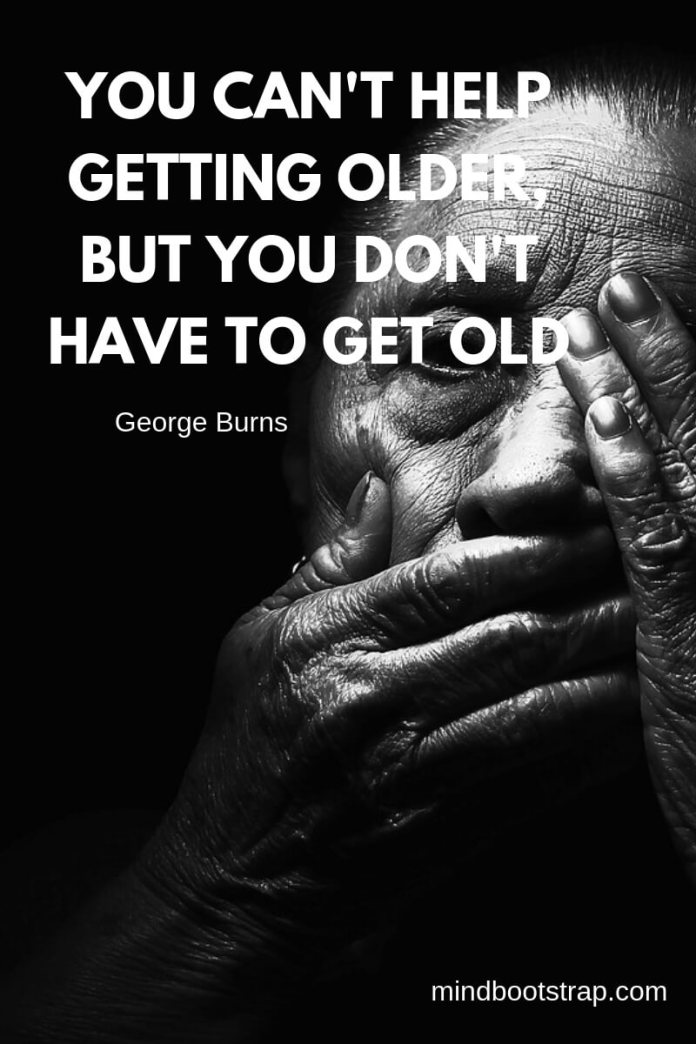 Helping old age quotes