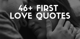 Inspiring first love quotes & sayings