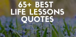 Best life lessons quotes