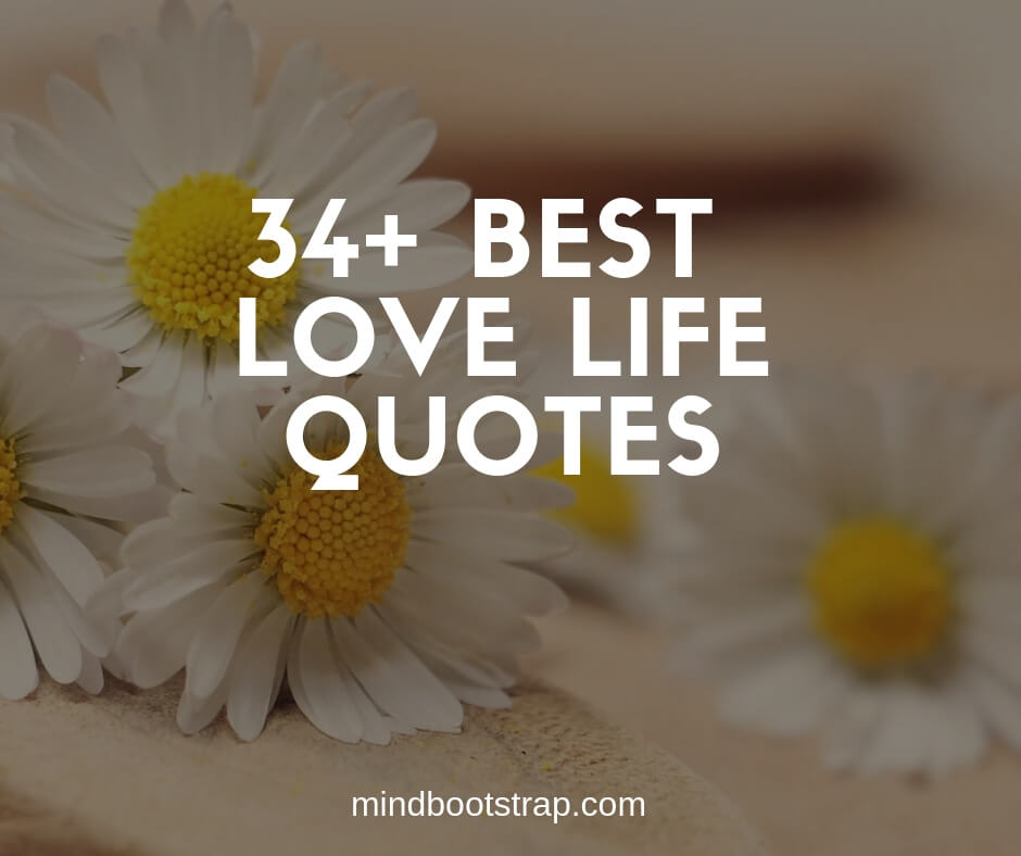 Love Life Quotes and Sayings