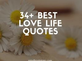 best love life quotes and sayings