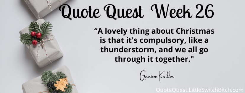quotequest week 26